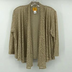 Ruby Road open front lace cardigan
